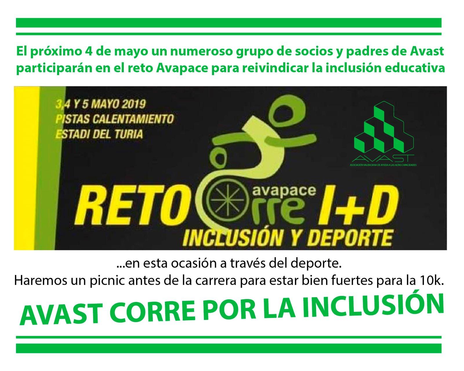 Corremos por la inclusión